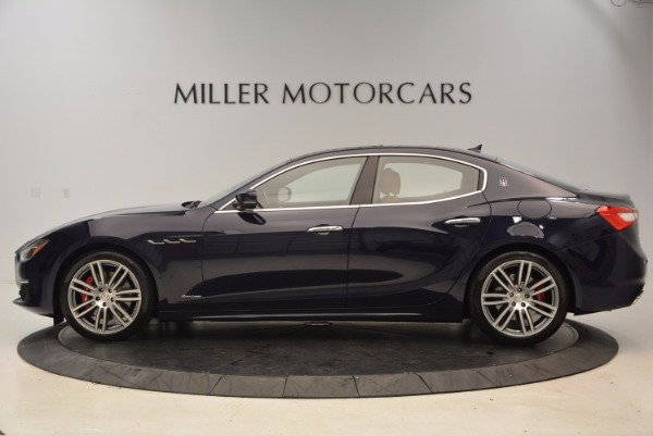 New 2018 Maserati Ghibli S Q4 GranLusso for sale Sold at Bentley Greenwich in Greenwich CT 06830 3