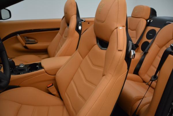 New 2018 Maserati GranTurismo Sport Convertible for sale Sold at Bentley Greenwich in Greenwich CT 06830 27