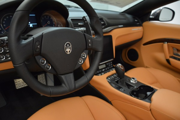 New 2018 Maserati GranTurismo Sport Convertible for sale Sold at Bentley Greenwich in Greenwich CT 06830 28