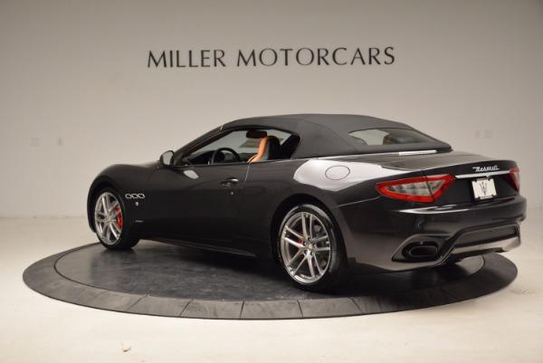 New 2018 Maserati GranTurismo Sport Convertible for sale Sold at Bentley Greenwich in Greenwich CT 06830 4