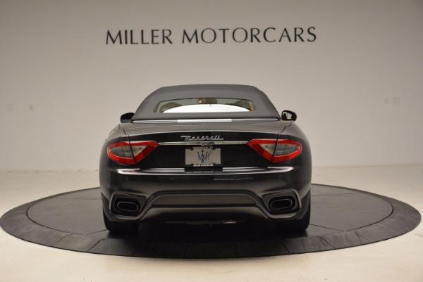 New 2018 Maserati GranTurismo Sport Convertible for sale Sold at Bentley Greenwich in Greenwich CT 06830 6