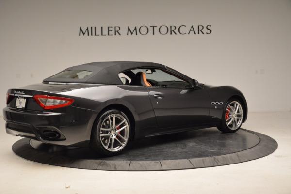 New 2018 Maserati GranTurismo Sport Convertible for sale Sold at Bentley Greenwich in Greenwich CT 06830 8