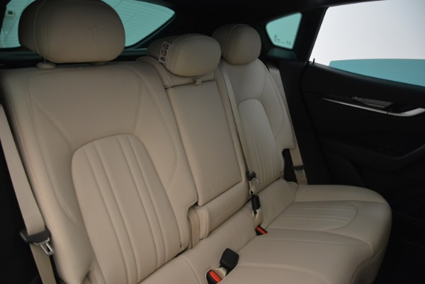 New 2017 Maserati Levante Q4 for sale Sold at Bentley Greenwich in Greenwich CT 06830 26