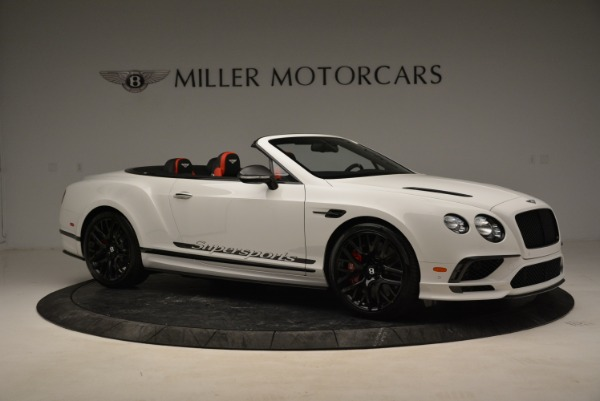 Used 2018 Bentley Continental GTC Supersports Convertible for sale Sold at Bentley Greenwich in Greenwich CT 06830 10