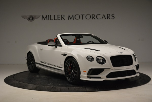 Used 2018 Bentley Continental GTC Supersports Convertible for sale Sold at Bentley Greenwich in Greenwich CT 06830 11