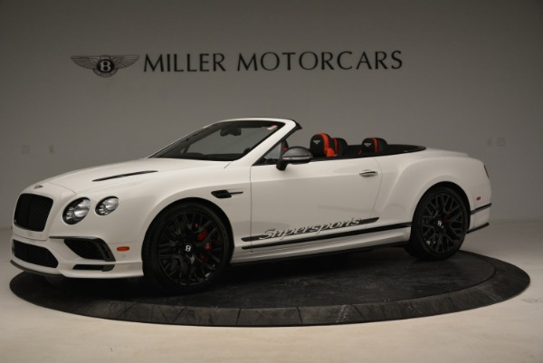 Used 2018 Bentley Continental GTC Supersports Convertible for sale Sold at Bentley Greenwich in Greenwich CT 06830 2