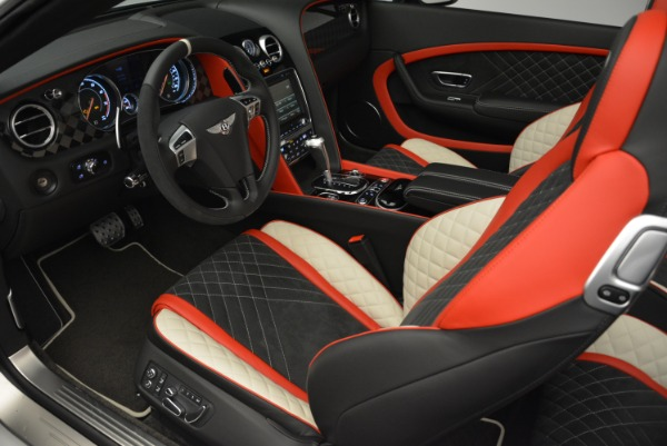 Used 2018 Bentley Continental GTC Supersports Convertible for sale Sold at Bentley Greenwich in Greenwich CT 06830 26