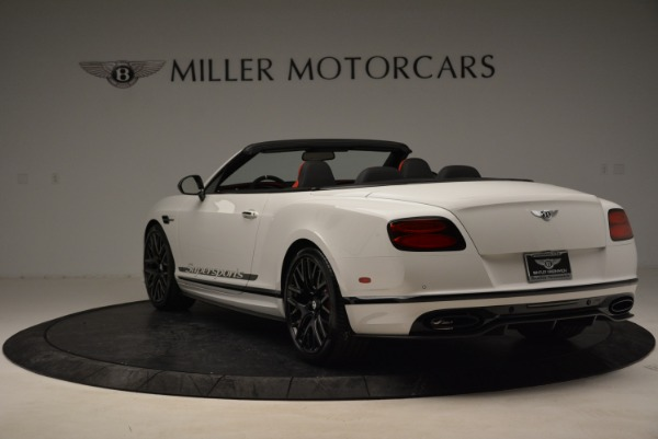 Used 2018 Bentley Continental GTC Supersports Convertible for sale Sold at Bentley Greenwich in Greenwich CT 06830 5
