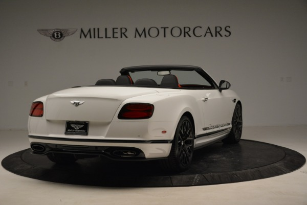 Used 2018 Bentley Continental GTC Supersports Convertible for sale Sold at Bentley Greenwich in Greenwich CT 06830 7
