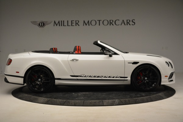 Used 2018 Bentley Continental GTC Supersports Convertible for sale Sold at Bentley Greenwich in Greenwich CT 06830 9