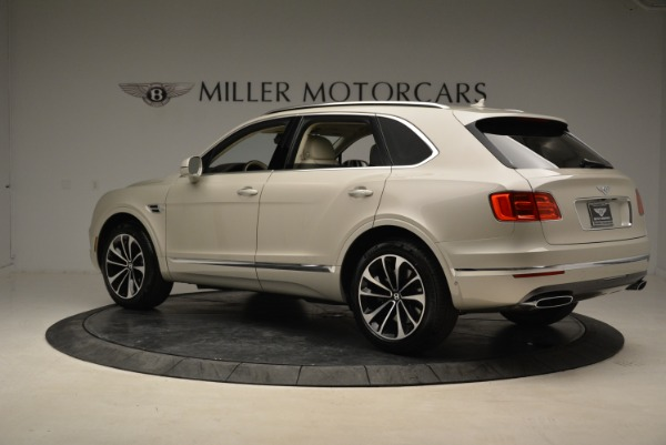New 2018 Bentley Bentayga Signature for sale Sold at Bentley Greenwich in Greenwich CT 06830 4
