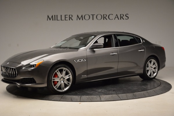 New 2018 Maserati Quattroporte S Q4 GranLusso for sale Sold at Bentley Greenwich in Greenwich CT 06830 2