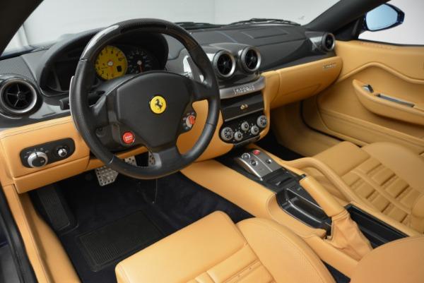 Used 2007 Ferrari 599 GTB Fiorano GTB Fiorano F1 for sale Sold at Bentley Greenwich in Greenwich CT 06830 13
