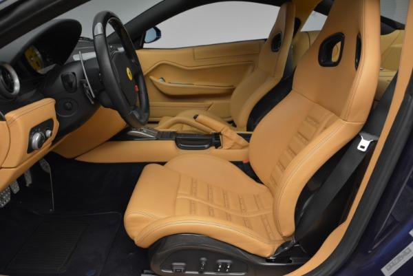 Used 2007 Ferrari 599 GTB Fiorano GTB Fiorano F1 for sale Sold at Bentley Greenwich in Greenwich CT 06830 14