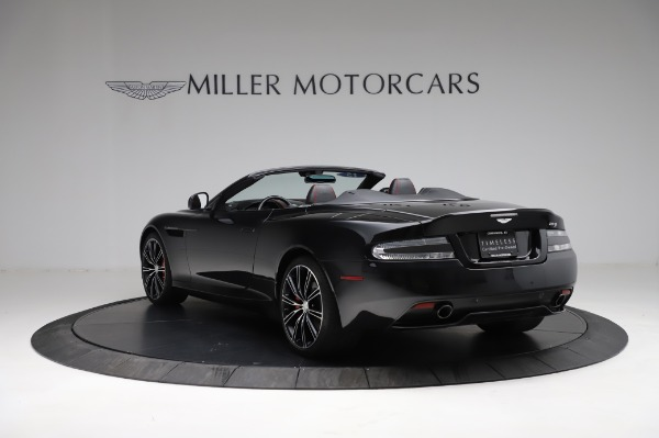 Used 2015 Aston Martin DB9 Convertible for sale Sold at Bentley Greenwich in Greenwich CT 06830 4