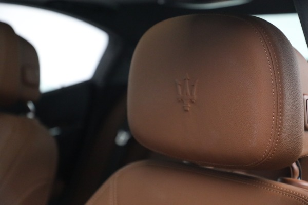 Used 2018 Maserati Ghibli S Q4 for sale $54,900 at Bentley Greenwich in Greenwich CT 06830 16
