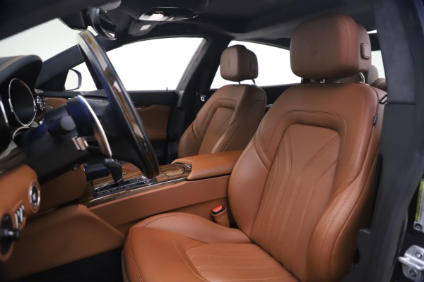 Used 2018 Maserati Quattroporte S Q4 GranLusso for sale $65,900 at Bentley Greenwich in Greenwich CT 06830 14