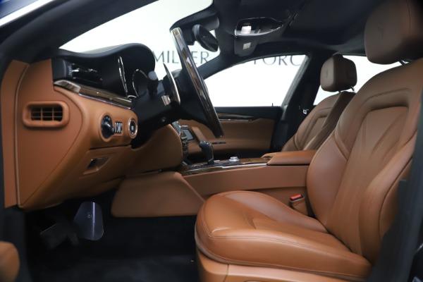 Used 2018 Maserati Quattroporte S Q4 GranLusso for sale $65,900 at Bentley Greenwich in Greenwich CT 06830 15