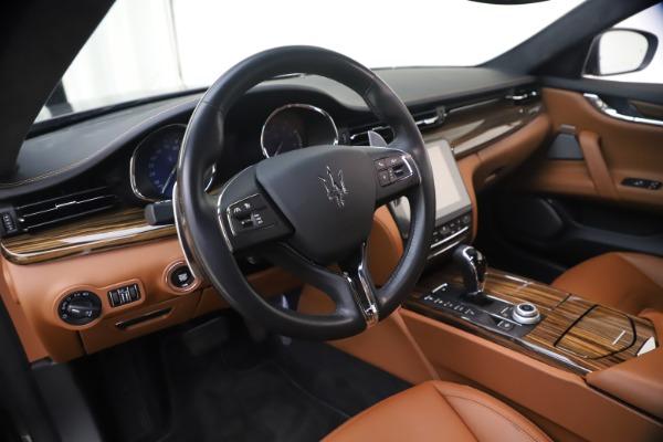 Used 2018 Maserati Quattroporte S Q4 GranLusso for sale $65,900 at Bentley Greenwich in Greenwich CT 06830 16