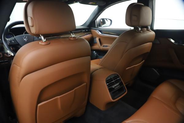 Used 2018 Maserati Quattroporte S Q4 GranLusso for sale $65,900 at Bentley Greenwich in Greenwich CT 06830 20