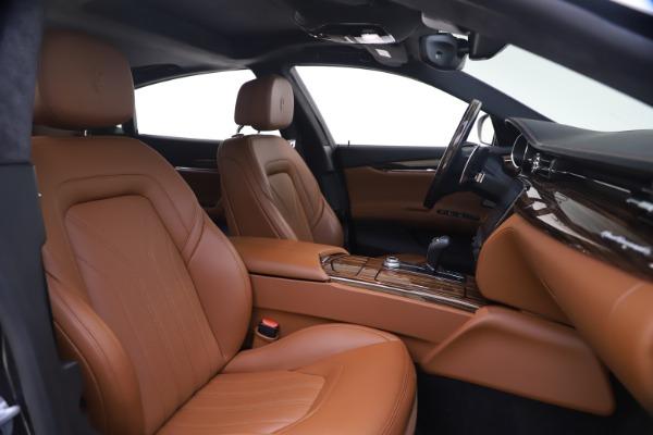 Used 2018 Maserati Quattroporte S Q4 GranLusso for sale $65,900 at Bentley Greenwich in Greenwich CT 06830 21