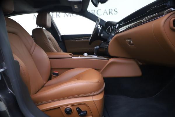 Used 2018 Maserati Quattroporte S Q4 GranLusso for sale $65,900 at Bentley Greenwich in Greenwich CT 06830 22