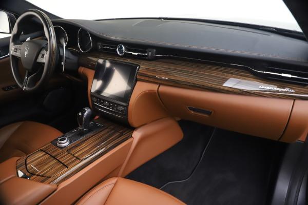 Used 2018 Maserati Quattroporte S Q4 GranLusso for sale $65,900 at Bentley Greenwich in Greenwich CT 06830 23