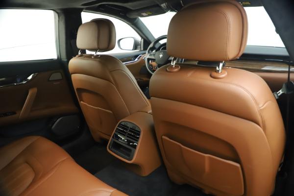 Used 2018 Maserati Quattroporte S Q4 GranLusso for sale $65,900 at Bentley Greenwich in Greenwich CT 06830 26