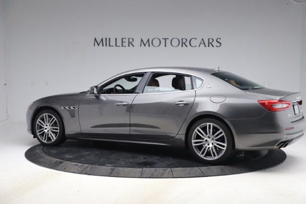 Used 2018 Maserati Quattroporte S Q4 GranLusso for sale $69,900 at Bentley Greenwich in Greenwich CT 06830 4