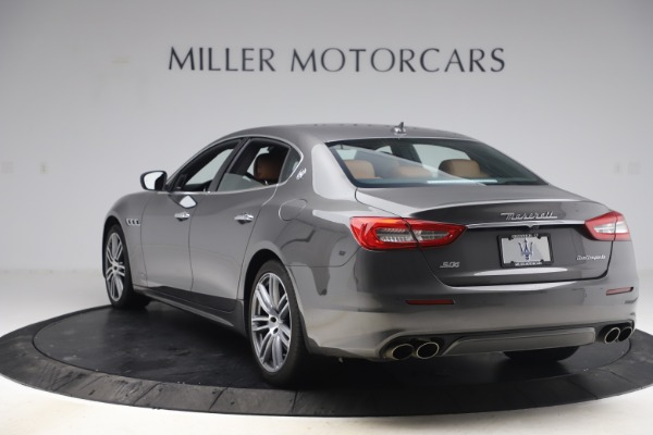 Used 2018 Maserati Quattroporte S Q4 GranLusso for sale $69,900 at Bentley Greenwich in Greenwich CT 06830 5