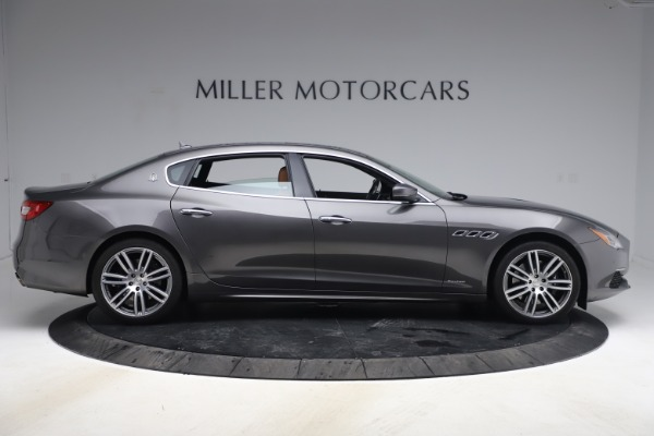Used 2018 Maserati Quattroporte S Q4 GranLusso for sale $69,900 at Bentley Greenwich in Greenwich CT 06830 9