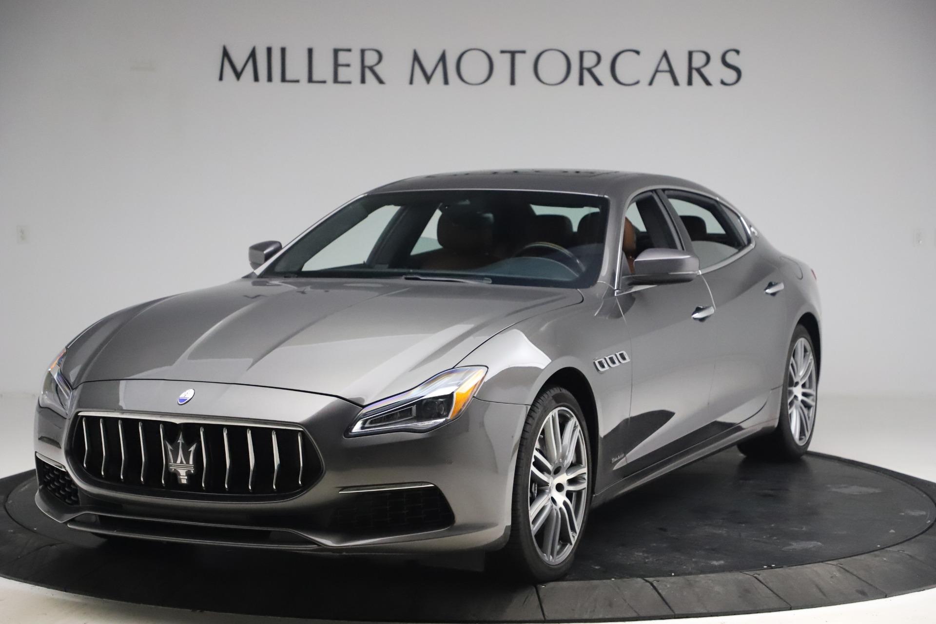 New 2018 Maserati Quattroporte S Q4 GranLusso for sale Sold at Bentley Greenwich in Greenwich CT 06830 1