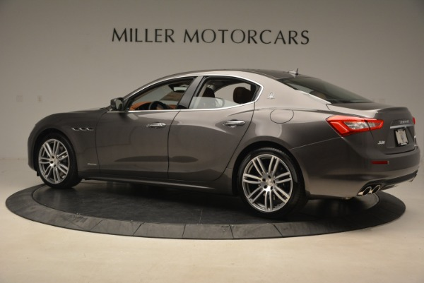 New 2018 Maserati Ghibli S Q4 GranLusso for sale Sold at Bentley Greenwich in Greenwich CT 06830 4