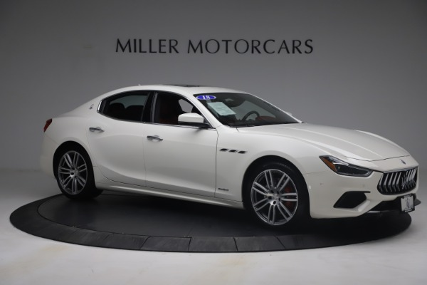 Used 2018 Maserati Ghibli S Q4 GranSport for sale $55,900 at Bentley Greenwich in Greenwich CT 06830 10