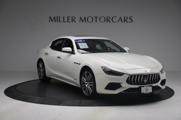 Used 2018 Maserati Ghibli S Q4 GranSport for sale $55,900 at Bentley Greenwich in Greenwich CT 06830 11