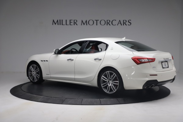 Used 2018 Maserati Ghibli S Q4 GranSport for sale $55,900 at Bentley Greenwich in Greenwich CT 06830 4