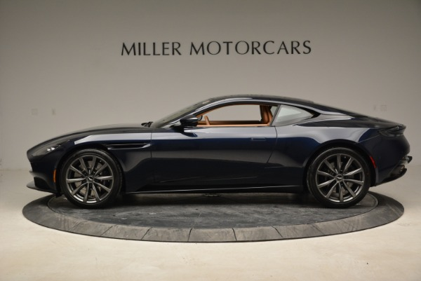 New 2018 Aston Martin DB11 V8 for sale Sold at Bentley Greenwich in Greenwich CT 06830 3