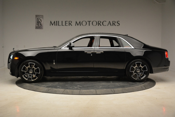 Used 2017 Rolls-Royce Ghost Black Badge for sale Sold at Bentley Greenwich in Greenwich CT 06830 3