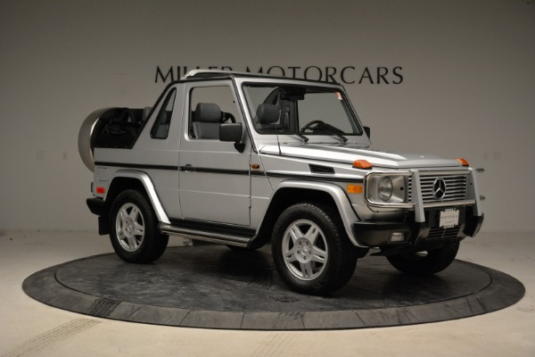 Used 1999 Mercedes Benz G500 Cabriolet for sale Sold at Bentley Greenwich in Greenwich CT 06830 10