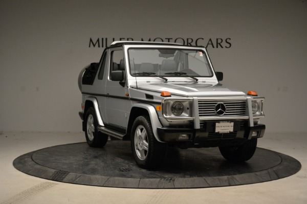 Used 1999 Mercedes Benz G500 Cabriolet for sale Sold at Bentley Greenwich in Greenwich CT 06830 11