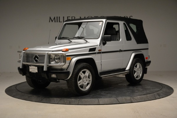 Used 1999 Mercedes Benz G500 Cabriolet for sale Sold at Bentley Greenwich in Greenwich CT 06830 13