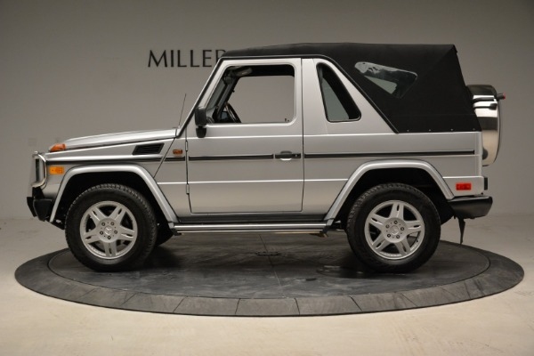 Used 1999 Mercedes Benz G500 Cabriolet for sale Sold at Bentley Greenwich in Greenwich CT 06830 14