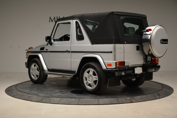 Used 1999 Mercedes Benz G500 Cabriolet for sale Sold at Bentley Greenwich in Greenwich CT 06830 15