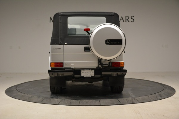 Used 1999 Mercedes Benz G500 Cabriolet for sale Sold at Bentley Greenwich in Greenwich CT 06830 16