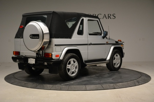 Used 1999 Mercedes Benz G500 Cabriolet for sale Sold at Bentley Greenwich in Greenwich CT 06830 17