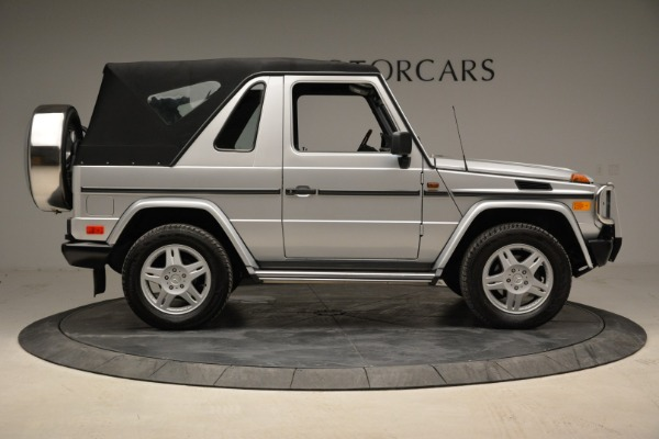 Used 1999 Mercedes Benz G500 Cabriolet for sale Sold at Bentley Greenwich in Greenwich CT 06830 18