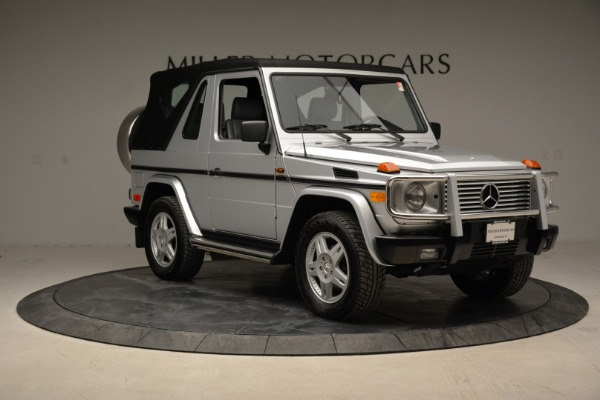 Used 1999 Mercedes Benz G500 Cabriolet for sale Sold at Bentley Greenwich in Greenwich CT 06830 19