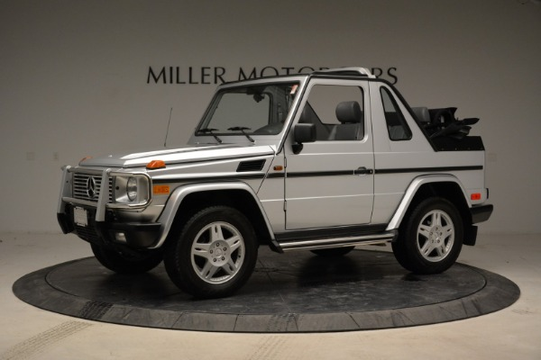 Used 1999 Mercedes Benz G500 Cabriolet for sale Sold at Bentley Greenwich in Greenwich CT 06830 2