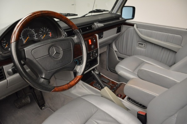 Used 1999 Mercedes Benz G500 Cabriolet for sale Sold at Bentley Greenwich in Greenwich CT 06830 22