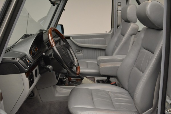 Used 1999 Mercedes Benz G500 Cabriolet for sale Sold at Bentley Greenwich in Greenwich CT 06830 23